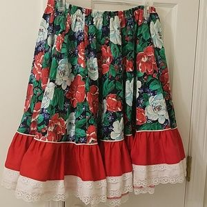 Dresses & Skirts - Vintage circle dress.